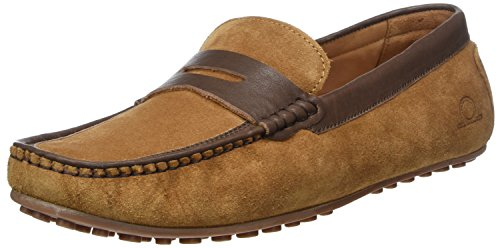 Hombre Tan Chatham Mocasines Brown para Toga Suede Xq114zx