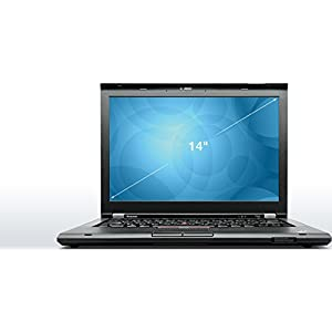 "Lenovo Thinkpad T430 Business Laptop computer Intel i5-3320m up tp 3.3GHz, 8GB DDR3, 128GB SSD, 14"" HD LED-backlit display, DVD, WiFi, USB 3.0, Windows 10 Pro (Certified Refurbished)"