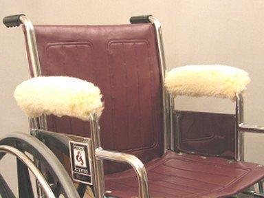Armrest Wheelchair Fleece (Wheelchair Armrest Wraps-Desk Size)