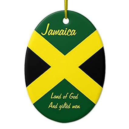 Christmas Gifts Jamaica Ornaments Oval Christmas Ornament Xmas Tree Crafts For Decorations