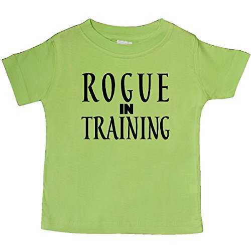 (inktastic Rogue in Training Baby T-Shirt 6 Months Key Lime)