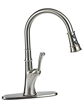 Peerless Pull Down Kitchen Faucet Brushed Nickel Amazon Ca Tools