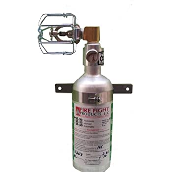 Fire Fight Products - SS30-90-CAG 90 Degree Small-Format Automatic Release Fire Suppression