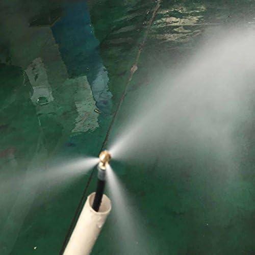 Generic 8/m High Hochdruckreiniger Micro Kanalisation Abflussschlauch Pipe Cleaner SCHLAUCH f/ür K/ärcher Nilfisk AR Lavor Bosch Schnelle Plug Suit 1//4 Quick Release Plug