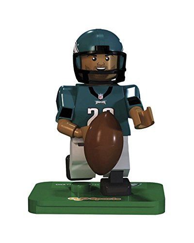 NFL GEN3 Philadelphia Eagles DeMarco Murray Limited Edition Minifigures, Green, Small by OYO