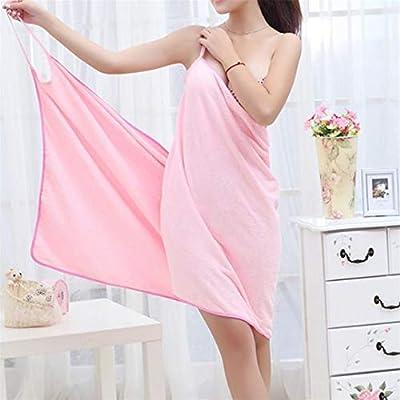 Fashion Lady Girls Wearable Fast Drying Magic Bath Towel Beach Spa Bathrobes Bath Skirt TB Sale