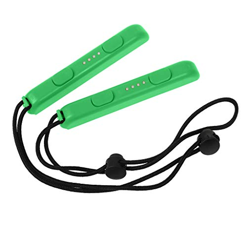 Orcbee  _1 Pair Joy-Con Gamepad Handle Lock Wrist Strap Lanyard for Nintendo Switch Game (Green)