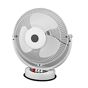 XODI All Purpose 3 in 1 Fan (Wall, Table and Ceiling) || ISI Approved Copper Motor || 3 Speed Mode || 12 Inches || Model- AP White