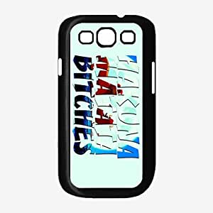 Light Blue Hakuna Matata Bitches Plastic Phone Case Back Cover Samsung Galaxy S3 I9300