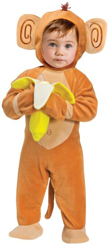 [Going Bananas Monkey Baby Costume] (Banana Baby Infant Costumes)