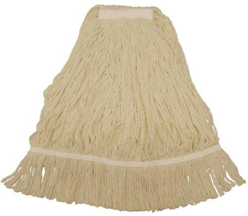 Natural Continental Mop (Wilen A202116, Royal GoGo Blend Cut End Fan Mop, 16-Ounce, 1-1/4