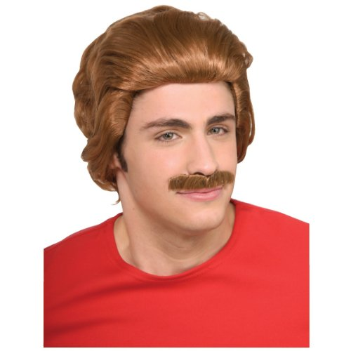 Nacho Libre Wig & Moustache
