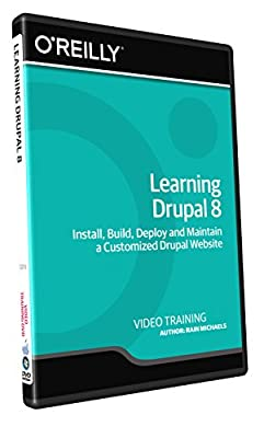 Learning Drupal 8 - Training DVD