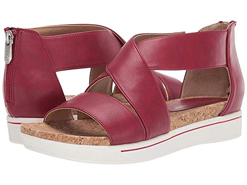 ADRIENNE VITTADINI Women's Claud Red 7.5 M US (Adrienne Vittadini Wedge Shoes)