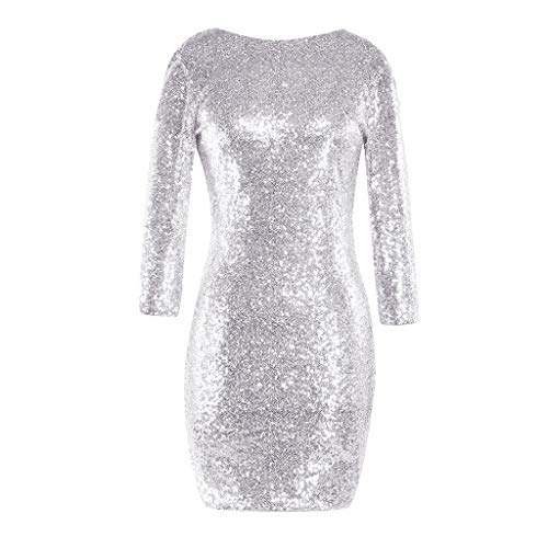 Women's Sparkle Glitzy Glam Sequin Long Sleeve Flapper for sale  Delivered anywhere in USA