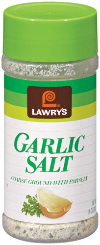 Lawrys Garlic Salt with Parsley, 11-Ounce Bottles (Pack of 6)