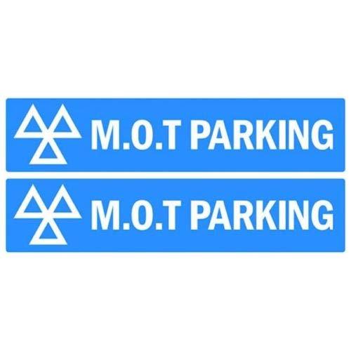 MOT Parking Sign 150 x 600mm *PAIR*
