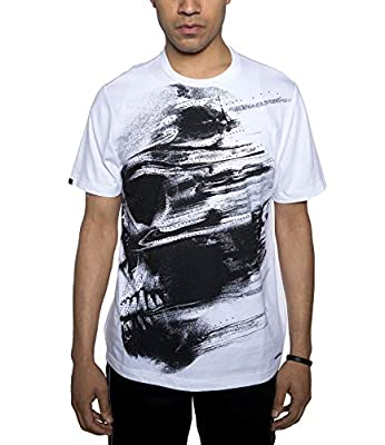 Sean John Men's Abstract Skull Graphic T-Shirt