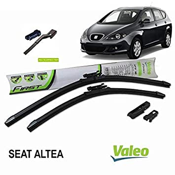 Valeo Juego de 2 escobillas de limpiaparabrisas Especiales para SeatALTEA 2005-2014 | Altea XL | 650+650 mm |: Amazon.es: Coche y moto