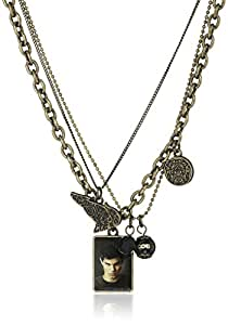 "Twilight New Moon ""Jacob Black"" Triple Chain Necklace, 16"" + 2"" Extender"