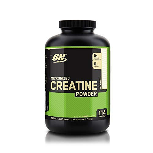 Optimum Nutrition Creatine Powder, Unflavored, 600g 748927023855