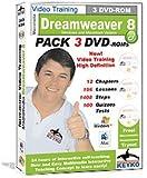 Software : Adobe Dreamweaver 8 Tutorial Training in 3 DVDs By Keyko