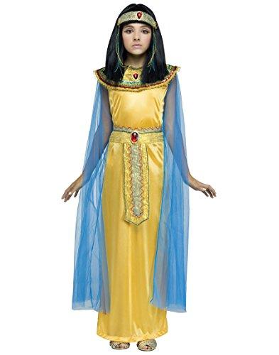 Girls Golden Cleopatra Costume - M -