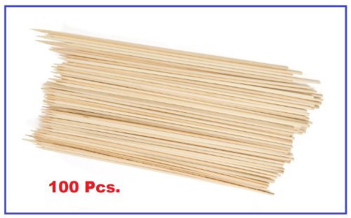 Thunder Group BAST010 Bamboo Skewer, 10-Inch, Bag of 100