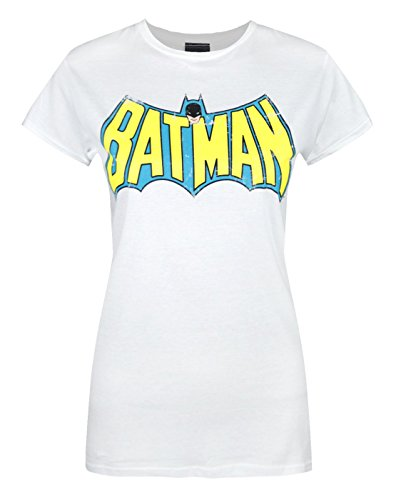 Batman+Retro+Shirts Products : Official Red Label Batman Retro Logo Women's T-Shirt