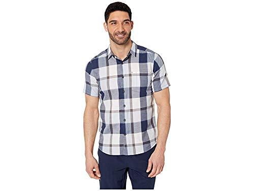 - Royal Robbins Men's Sawtooth Plaid Short Sleeve Shirt Cloud X-Large