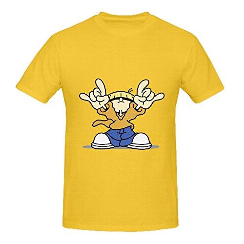 KARLEE Custom Multi-Colored Codename Kids Next Door Numbuh 4 Men TeeShirts