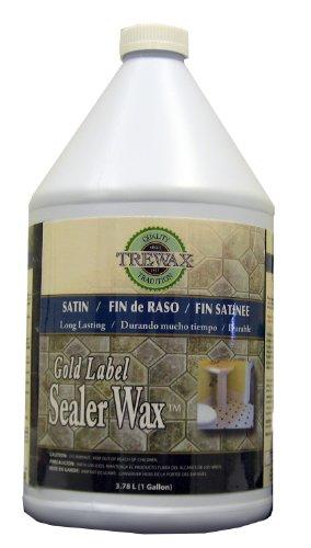 Satin Gloss Wax - Trewax Professional Gold Label Sealer Wax