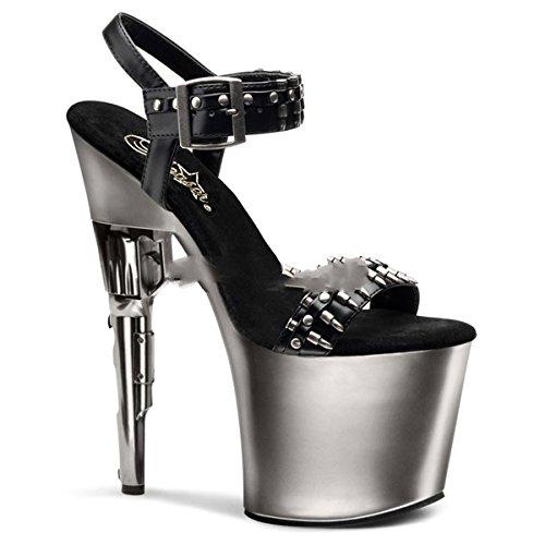 Pleaser Bondgirl-712 - sexy plateau talon hauts chaussures femmes sandalettes 35-43