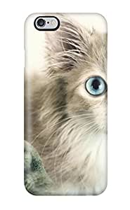 Fashion KDWNKfc3147RYjKp Case Cover For Iphone 6 Plus(cat With Big Eyes)