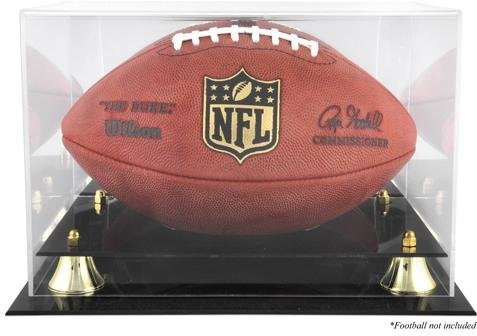 Mounted Memories Golden Classic Football Case