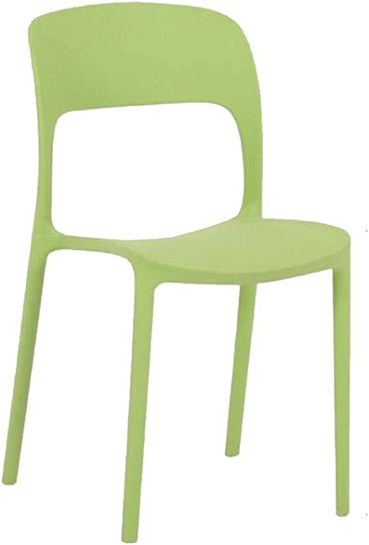 YCSD Sillas Apilables Oficina Plástico/Hogar/Jardín/Fiesta/Recepción/Sala De Estar (Color : Green): Amazon.es: Hogar