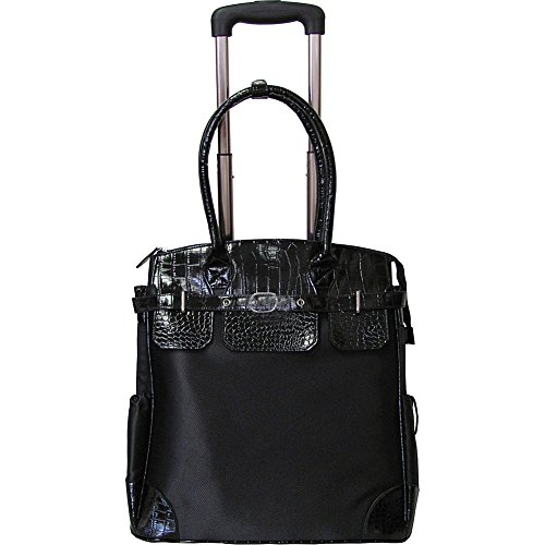 amerileather-deluxe-skylar-womens-large-rolling-laptop-tote-black