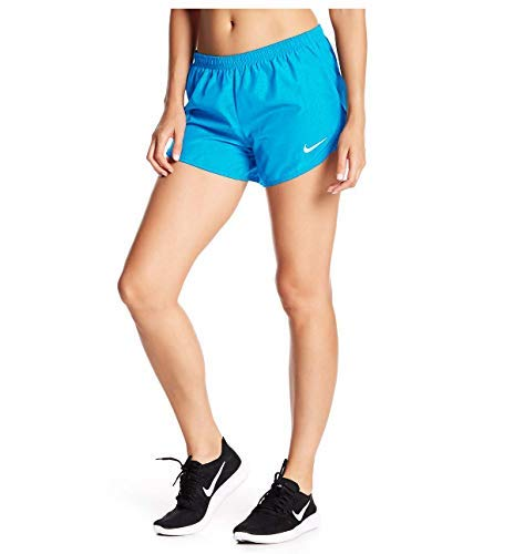 Nike Women's Dri-Fit Tempo Running Shorts-Polarized Blue-Large