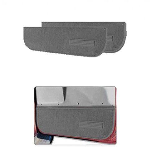 Nifty Products 120111 Pro-Line Replacement Carpet 2pc Lower Door Panels Grey ()