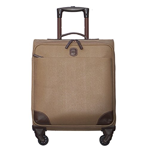 [Bric's Mylife 20 inch Wide Body Carry on Spinner, Taupe] (20