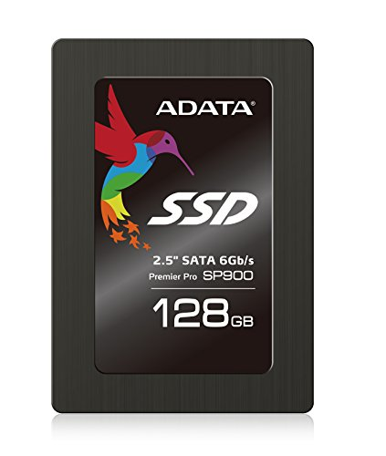 ADATA Premier Pro SP900 128GB 2.5 Inch SATA III Superb Read & Write up to 545MB/s & 535MB/s Solid State Drive (ASP900S3-128GM-C)