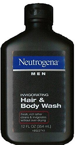 Neutrogena Men Invigorating Hair And Body Wash, 12 Fluid Ounce...