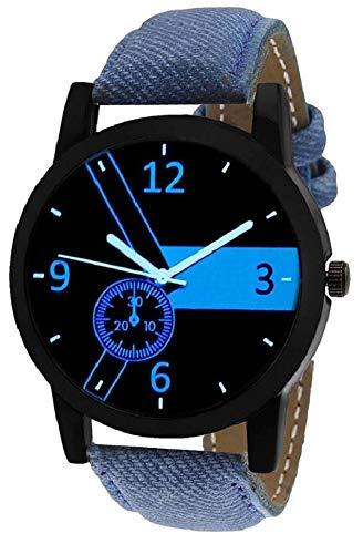 Believe Boys Analog Blue Designer Watch