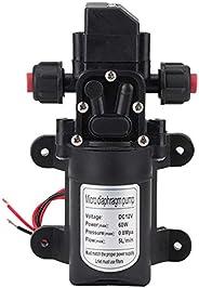 Acouto Self Priming Water Pump, DC 12V High Pressure 116Psi Use for Self-Priming Caravan Camping Boat Garden S