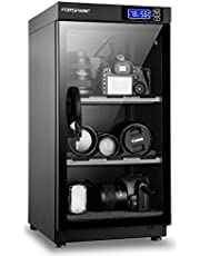 FORSPARK Camera Dehumidifying Dry Cabinet  8W 50L-Noiseless & Energy Saving - for Camera Lens & Electronic Equipment Storage