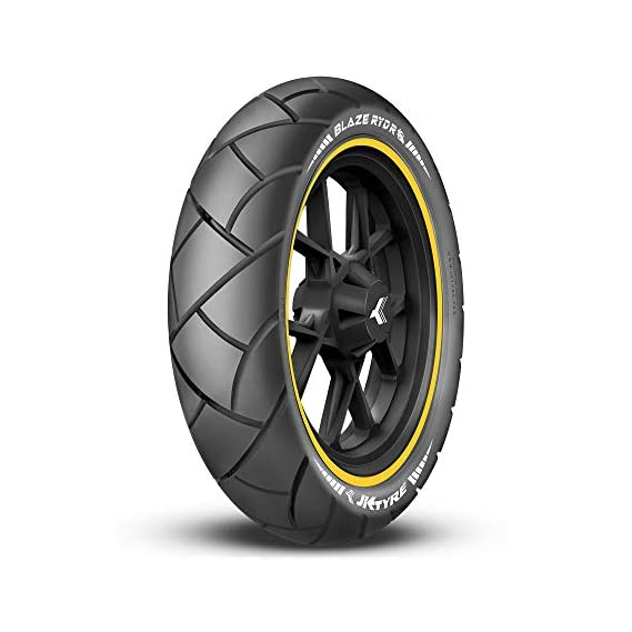 JK Tyre BLAZE RYDR BR41 120/80-16 Tubeless Bike Tyre, Rear