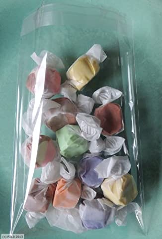 100 Clear Lip and Tape Self Sealing Cello Bags 8
