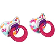NUK Baby Talk Puller Pacifier in Assorted Colors and Styles, 0-6 Months