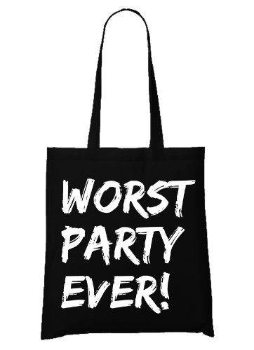 Worst Party Ever! Bag Black