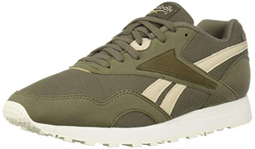 Reebok Men's Rapide Sneaker, Terrain Grey/Parchment/Army Gre